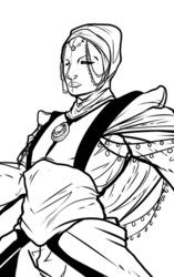 Master of Coin Nadeem- Redesign/lineart