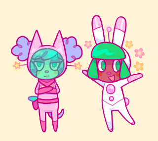 captain and lula as animal crossing villagers ?