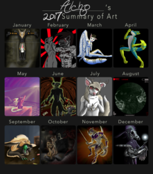 2017 Art Summary!