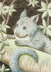 Blue Jungle Cat Of The Night