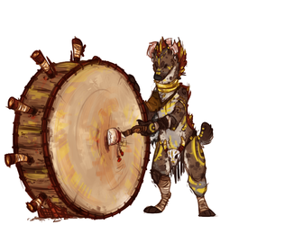 -Drum noise-