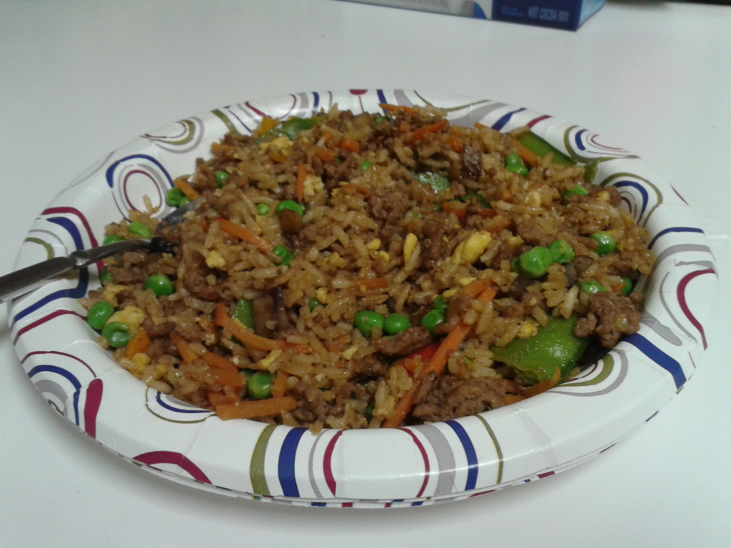 Beef (or Chicken) Fried Rice