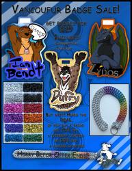 Vancoufur badge preorder + lanyard promotion![Closed]