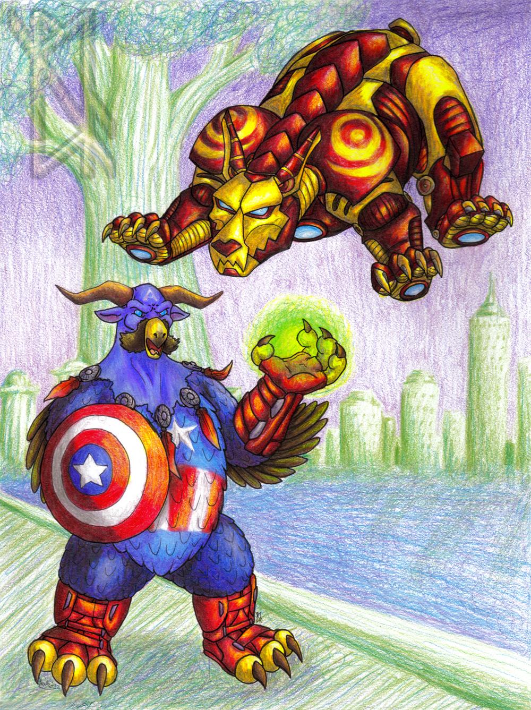 Captain Boomkin & Iron Bear
