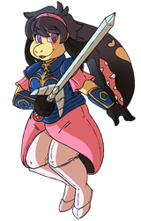 Commission - Passy Cosplays as Alis Landale