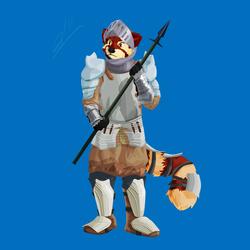 [Comm] Pandana the knight
