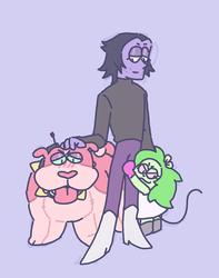 Prof Venomous & his lackeys