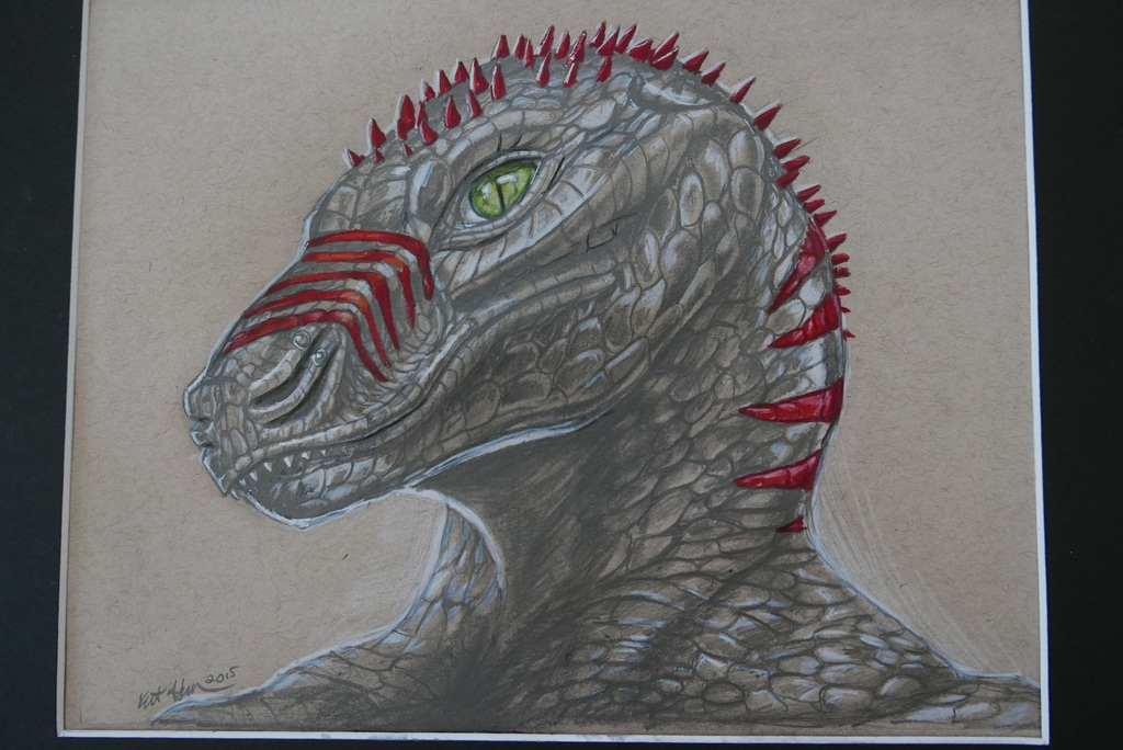 Pretty Lizard [Commission]
