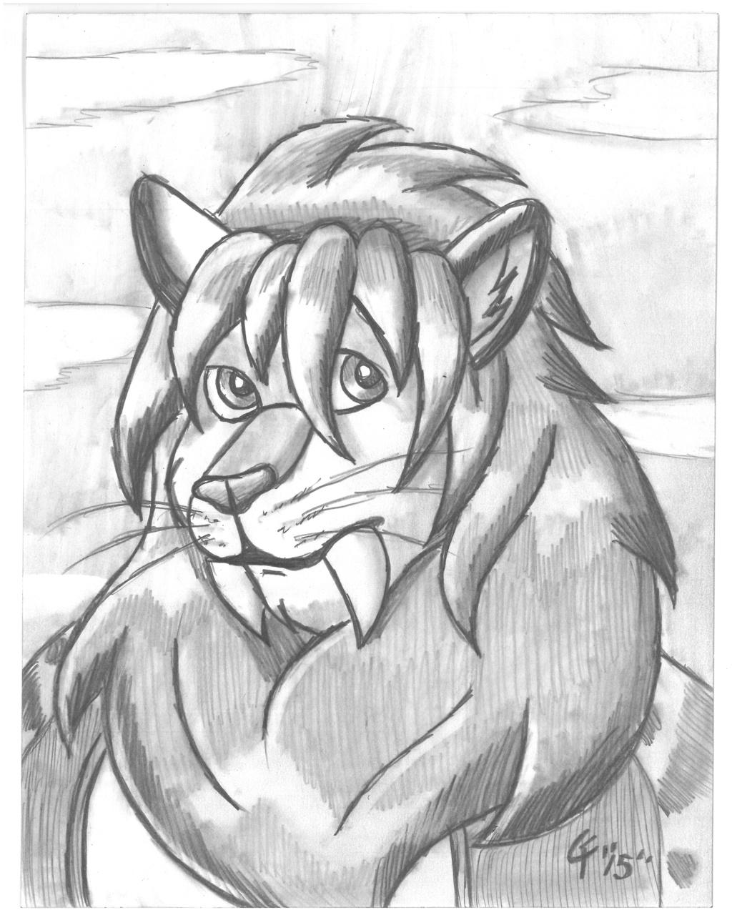 Omni Pencil portrait