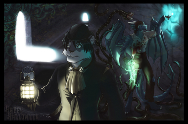 Commission: Dragoneye11 and nekomaelstorm