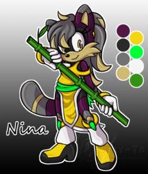 Nina the Tanooki