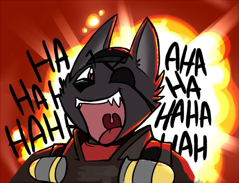 Demowolf Avatar by Kaittycat