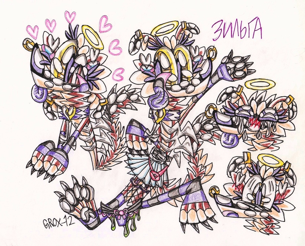 Zilga-sketches