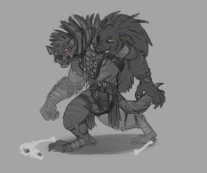 Gren, my pathfinder character