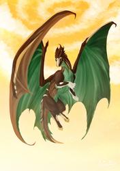 Tretron dragon commission
