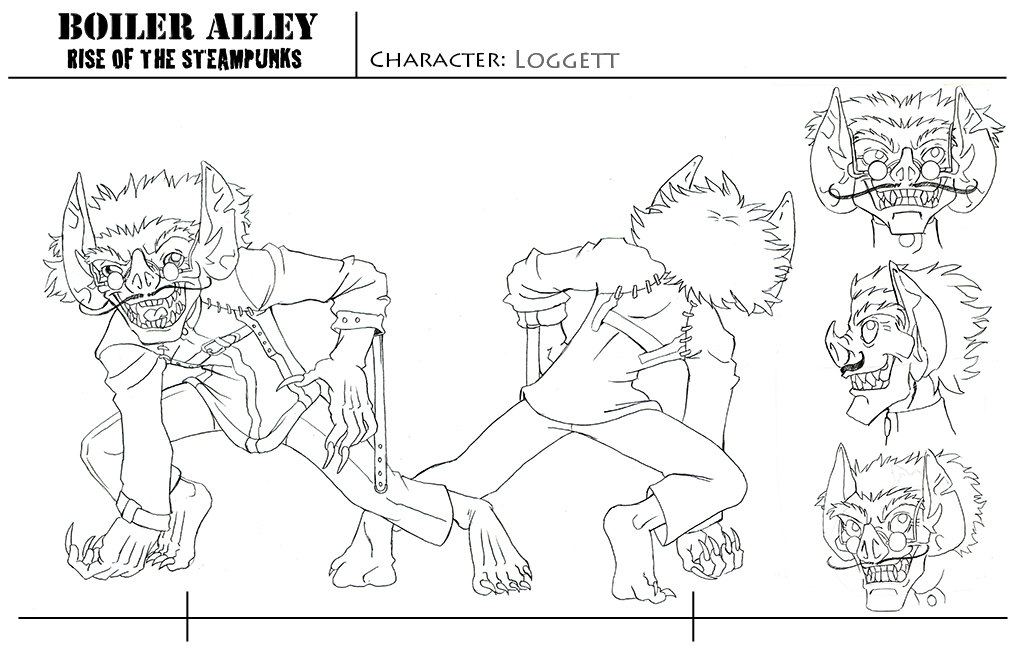 Character Sheet, - Loggett 2