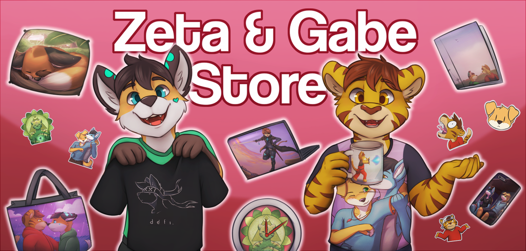 Most recent image: Our Redbubble Store!