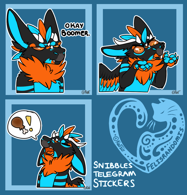 Snibbles Telegram Stickers 6