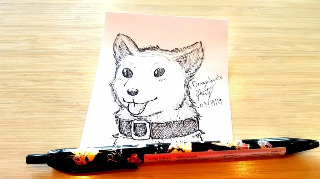 Work Doodles - Good Boy