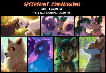 Speedpaint Commission Sheet