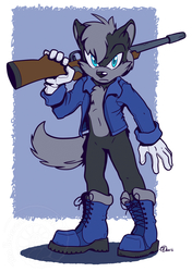 [COMMISSION] Axis the Wolf