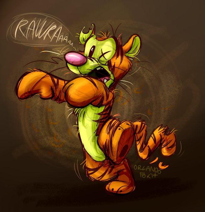 Most recent image: Zombie Tigg