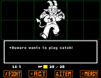 Buwaro as an Undertale Enemy