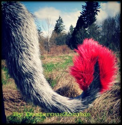 Brand New Red Monster Tail For Sale