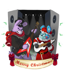 A Five Night's At Freddy's Christmas - The Bonnies!