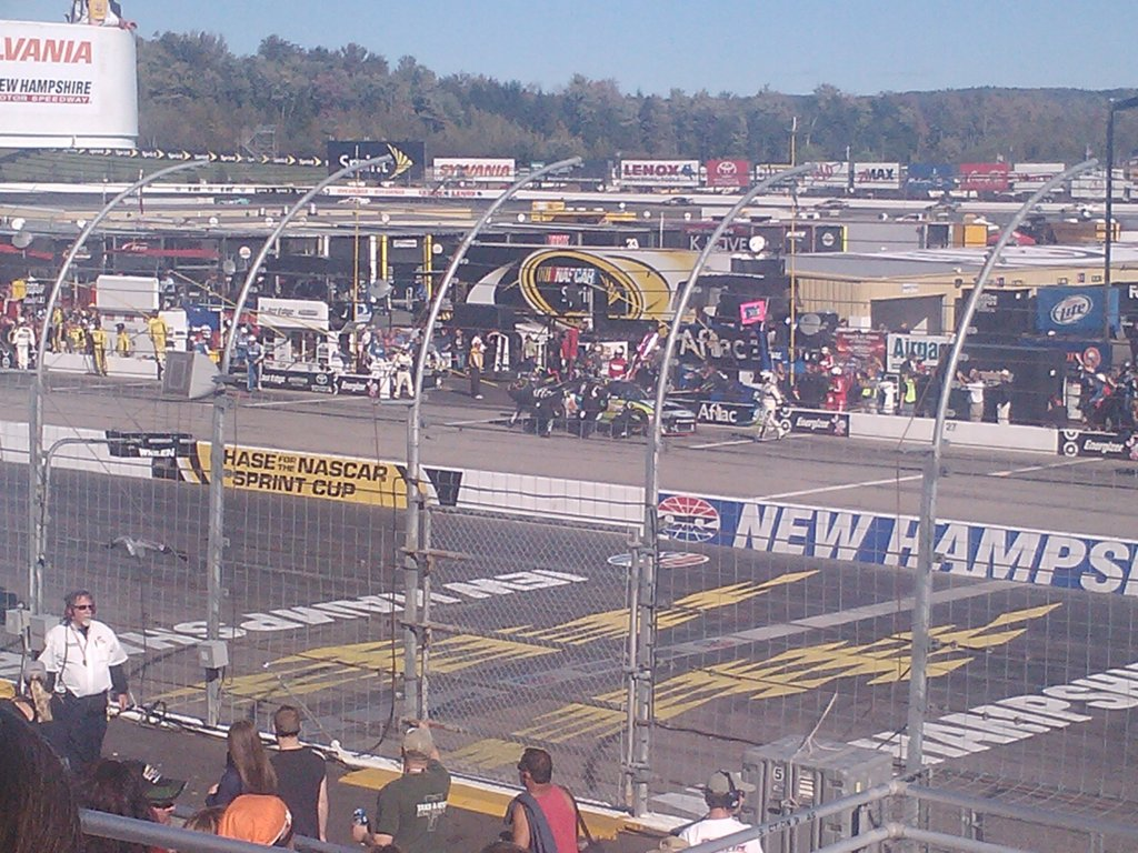 Green Flag Pit stops 1