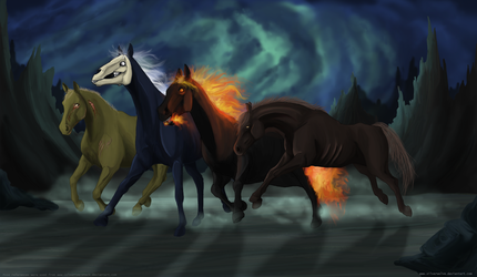 Apocalyptic horses