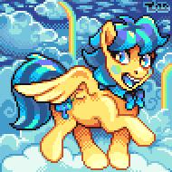 Pixel Portrait - Laffy