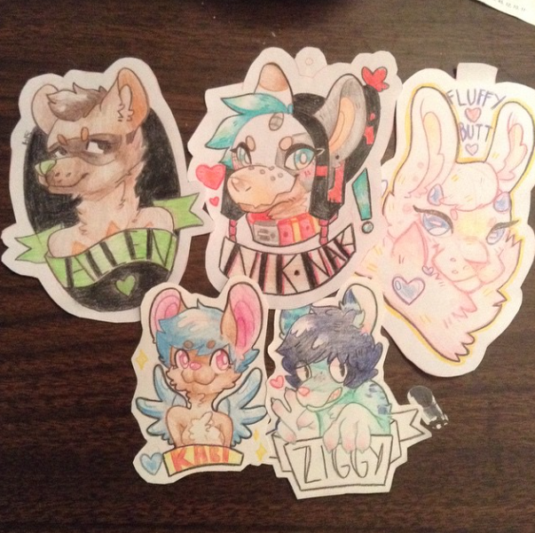 Most recent image: Badge Commissions