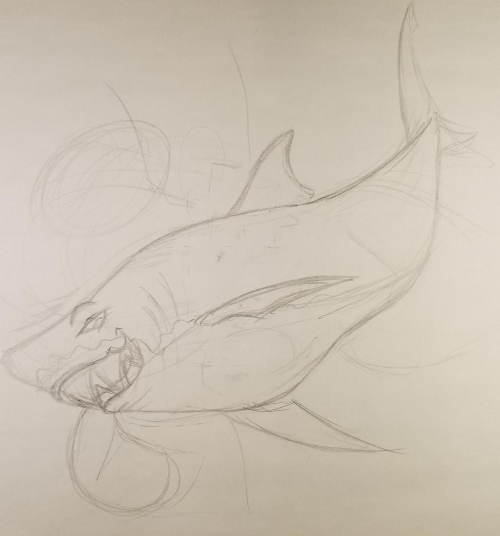 Feral Big Mamma Shark