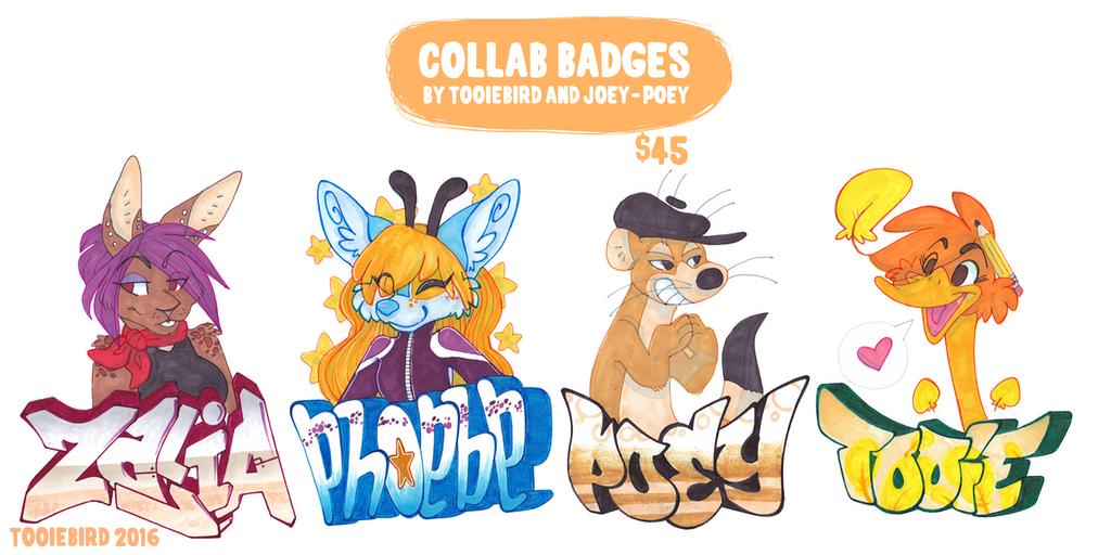 Collab Badges