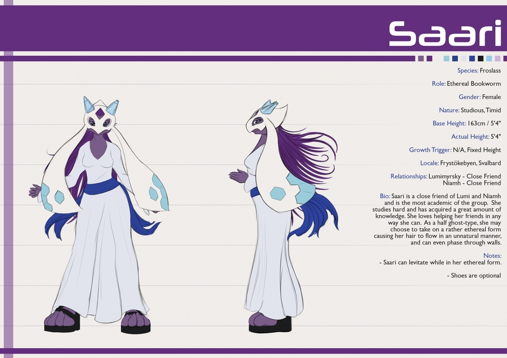 Reference Sheet - Saari