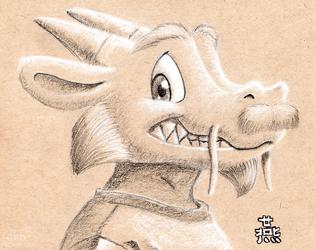 Smiley dragon