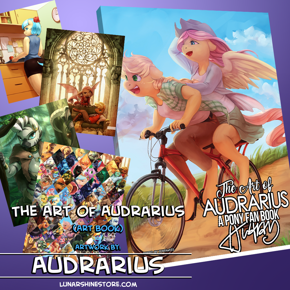 The Art of Audrarius: A Pony Fan Book