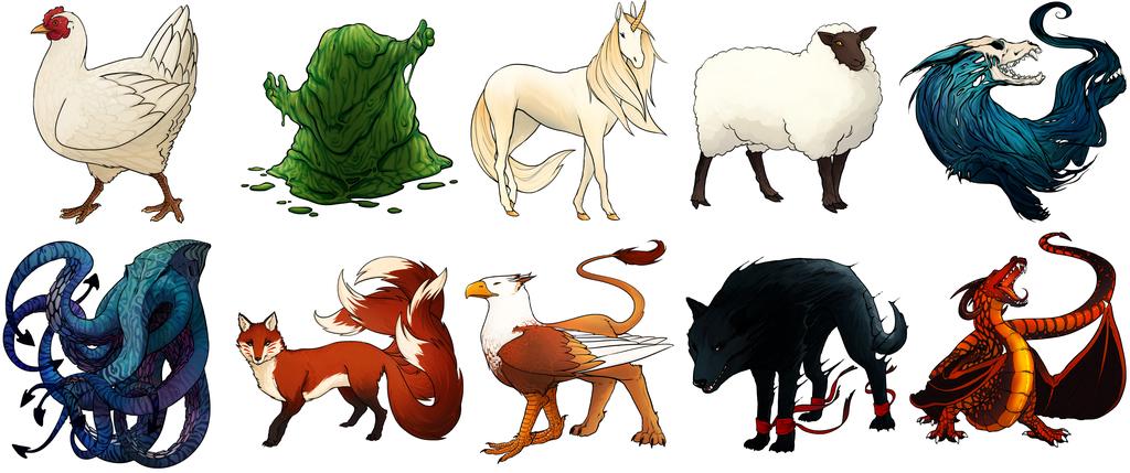 Beast Summoners - Beast Art