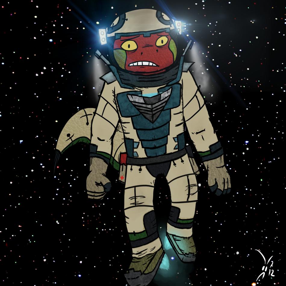 Tin Artist: Space Newt