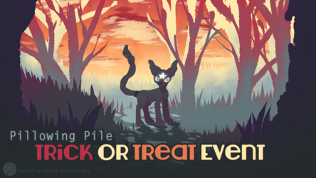 Pillowing Pile Event: Trick or Treat 2016