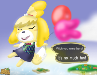 Animal Crossing- Wish You Were Here