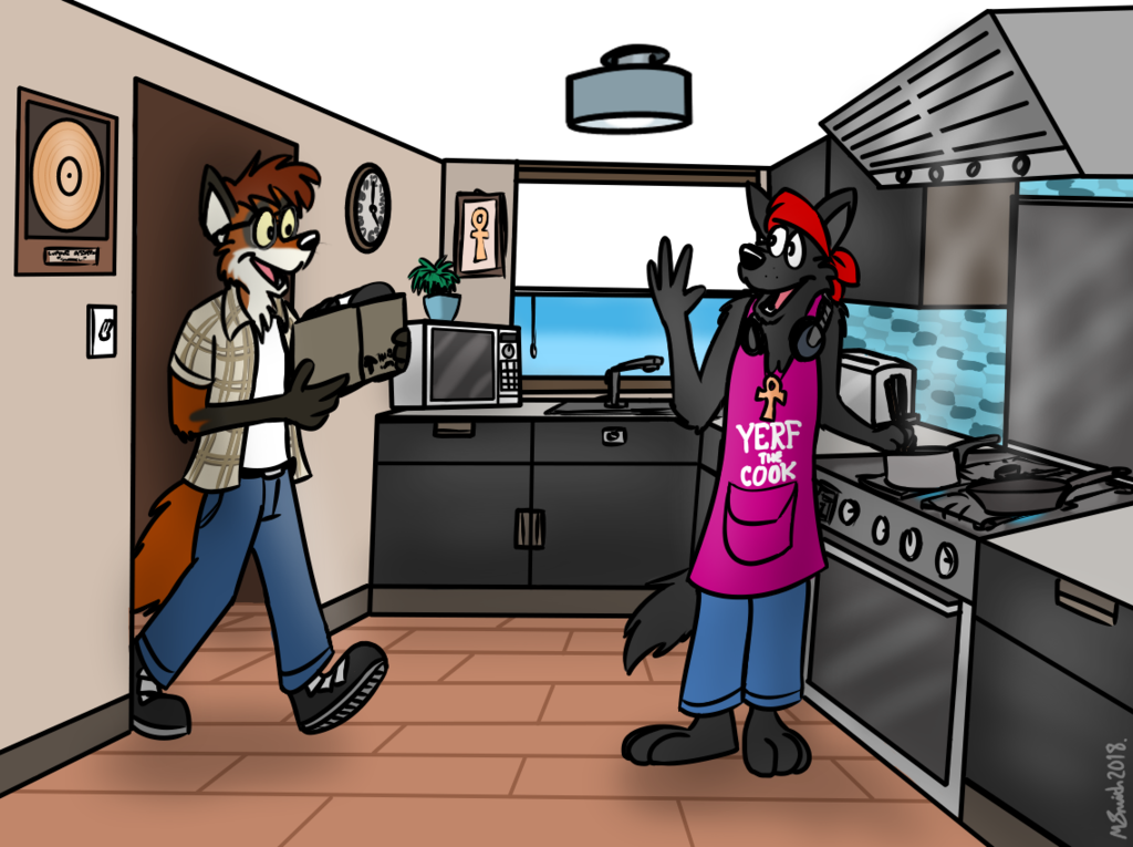 Most recent image: What's Cooking?
