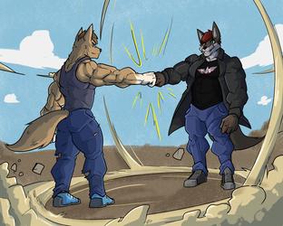 WAF Fist!