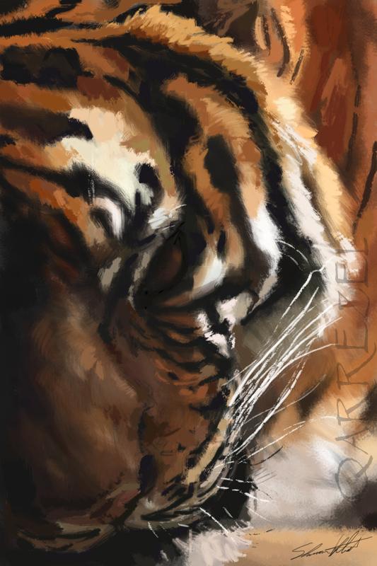 Tiger Speedpaint