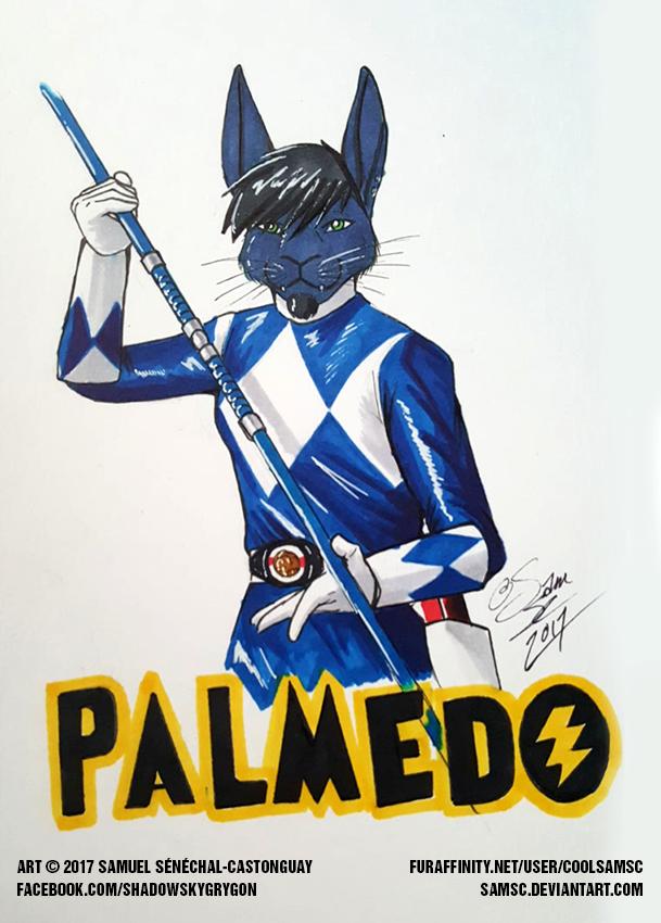 Palmedo Mighty Morphin Blue Ranger Badge