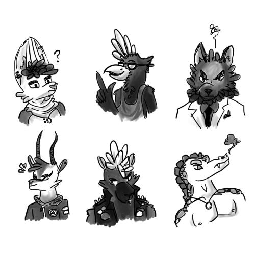 Character Doodles