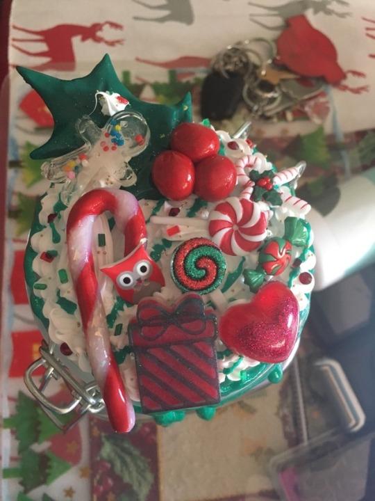 Christmas Lolly Jar