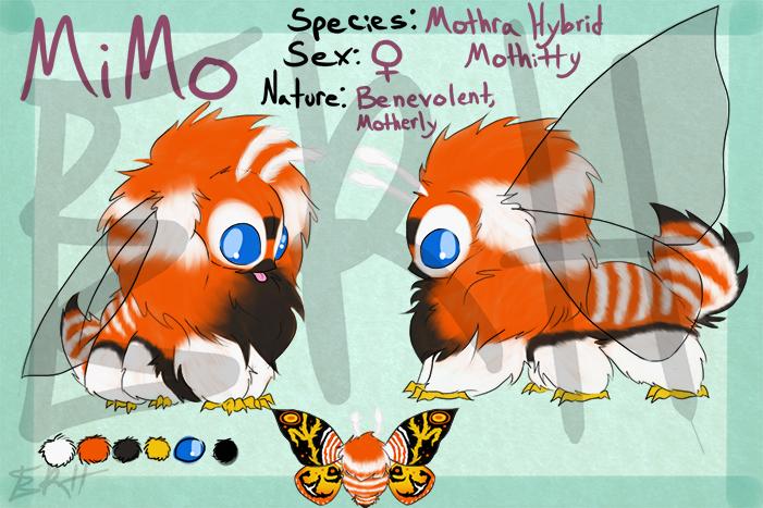 Mothra Hybrid Mothitty [com]