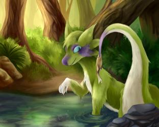 Fishing Tail
